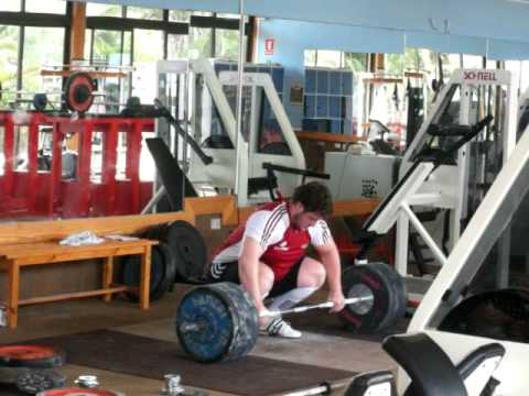 German National Olympic Weightlifting team training in Tenerife December 2009 Image 1