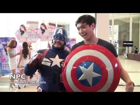 Bangkok Comic Con 2014 (4-6 July) Video#2  NPC