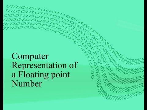 Computer representation of a floating point number