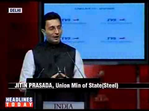 Jitin Prasada speech at India Today Conclave 2009
