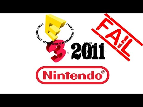 Nintendo 2011 E3 Conference in 3 minutes