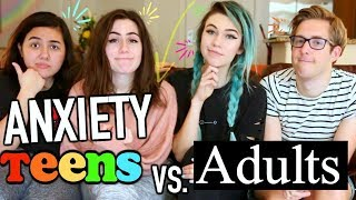 Anxiety: Teens vs. Adults by : jessiepaege