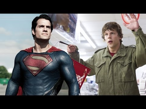 Superman vs. Jesse Eisenberg - Supercut