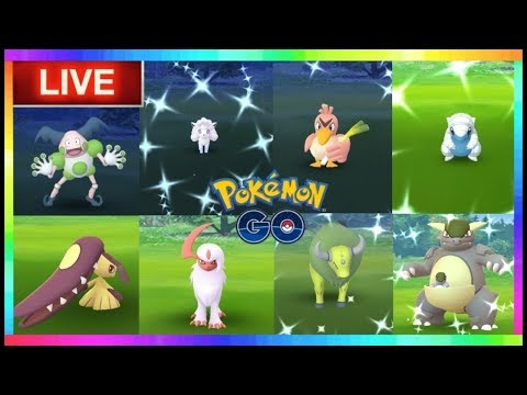Pokémon GO Live - WILD SHINY REGIONALS Shiny Check around New York and 100 iv Coords by Engel
