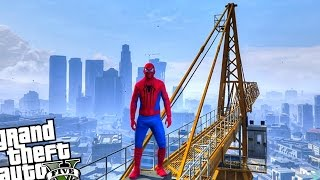 GTA 5 PC SpiderMan Mod - SPIDERMAN VS ZOMBIE INVASION (Grand Theft Auto 5 Spider-Man)