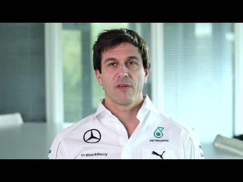 F1 2014 - Mercedes Amg - Interview With Toto Wolff & Shamsul Azhar Abbas video