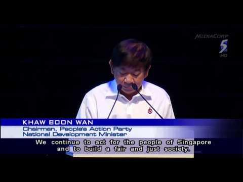 PAP Chairman Khaw urges party activists to unite to build brighter future - 08Dec2013