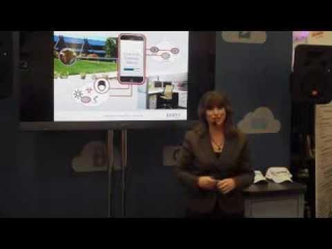 Juniper Networks Presentation at RSAC (Emilie Barta, Trade Show Presenter/Corporate Spokesperson)
