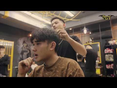 Tóc Nam đẹp | Kiểu Tóc Layer Cut Lãng Tử Màu Khói Sáng đẹp Nhất 2018 | Phong BVb