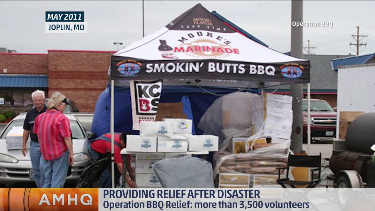 Operation BBQ Relief Feeds Thousands
