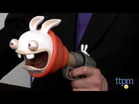 Rabbids Invasion Plunger Blaster from McFarlane Toys