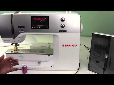 Bernina 710 4 Machine Set Up