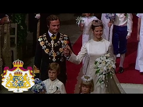 silvia bröllop