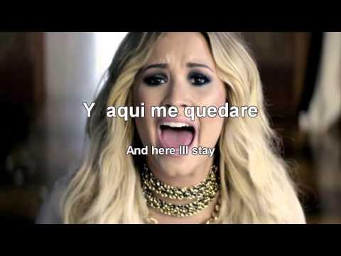 Demi Lovato   Let it go Letra Lyrics   Español In...
