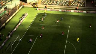 PES 2012 demo - Giggs Superb Volley Goal