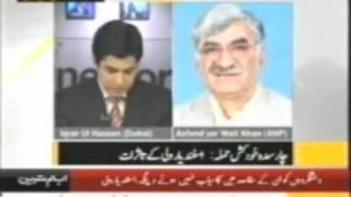 Its our war against Qatil Taliban,ANP Leader Asfand Yar Wali