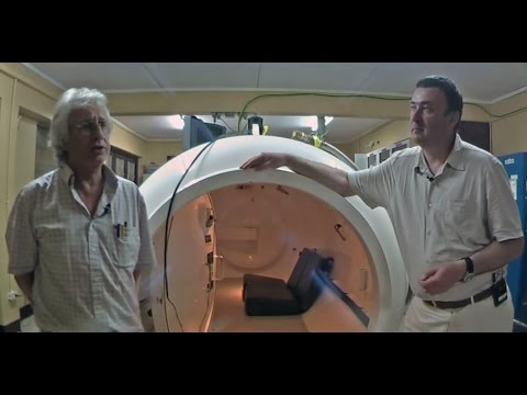 Interview with Dr Michael Brown of the Barbados Defence Force   Hyperbaric Decompression Chamber