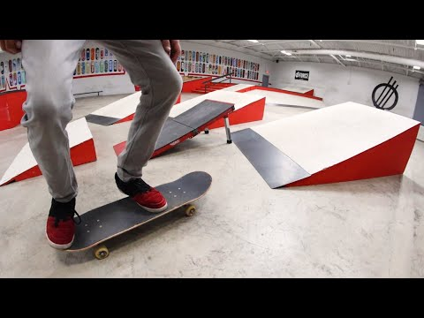 You Must Skate All The Ramps! / Warehouse Wednesday