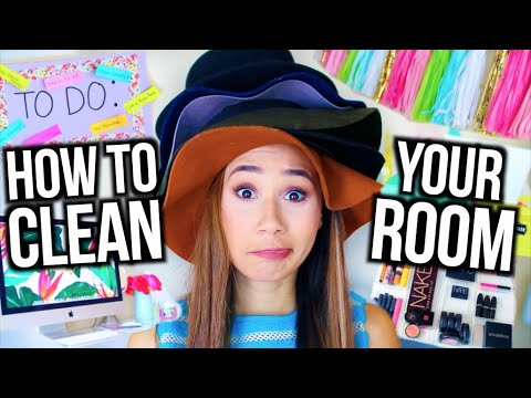 How To Clean Your Room! + DIY Room Decor and Organization!