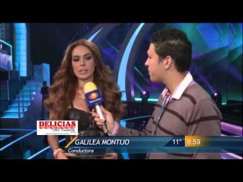 Las Noticias - Galilea Montijo sufre desmayo en grabación