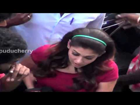 Actress Nayantara Was Seen In The Streets Of Pondicherry – Redpix24x7 video
