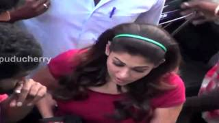 Actress Nayantara was Seen in the Streets of Pondicherry – RedPix24x7