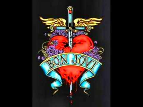 Bon Jovi - U give love a bad name (lyrics)