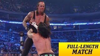 FULLLENGTH MATCH SmackDown The Undertaker vs CM Punk