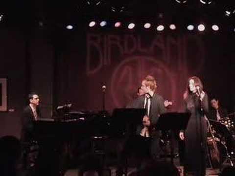 Danny Calvert & Jill Zadeh sing Scott Alans THE JOURNEY - Live @ Birdland
