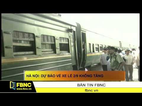 FBNC - Hà Nội: Dự báo vé xe lễ 2/9 không tăng