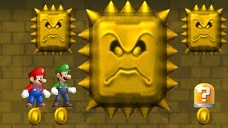 Newer Super Mario Bros Wii Co-Op Walkthrough - Part 2 - Rubble Ruins
