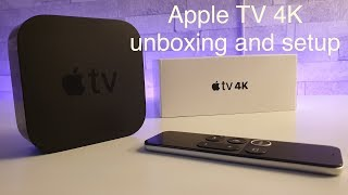 Apple TV 4K unboxing,demo and set on LG OLED