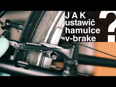 Jak Ustawić Hamulce W Rowerze - Regulacja Hamulców V-brake