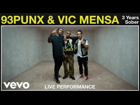 "93PUNX, Vic Mensa - ""3 Years Sober"" Live Performance | Vevo"