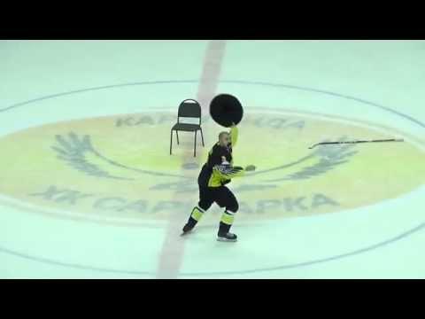 Победный танец Эдгара Сиксны Сарыарка-Звезда 16.11.2015