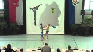 Sinah Kammerer & Jannis Mayer - Ländle Cup 2015