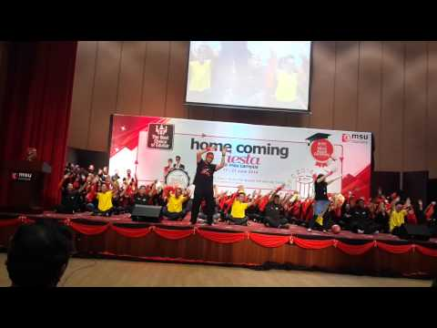 Msu Homecoming Fiesta-fhls Dikir Barat 2014 video