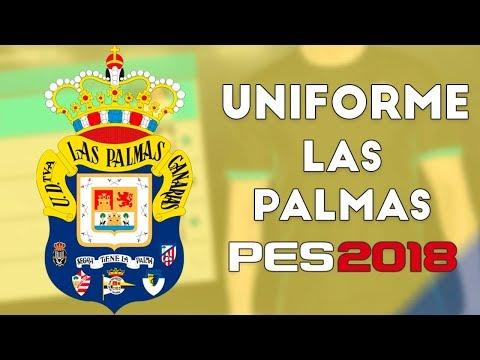 PES 2018 - Uniformes Las Palmas (17-18)