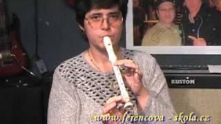 Škola zobcové flétny - lekce 01