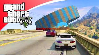 GTA V Races - IN DE LUCHT SCHOT! (GTA 5 Online)