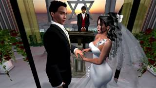 Clark & GG Second Life Wedding 2.24.18
