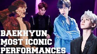 BYUN BAEKHYUN (???) TOP 10 MOST ICONIC (DANCE) LIVE PERFORMANCES