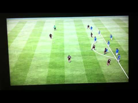 Fifa 13 - Mario Balotelli goal against Chelsea