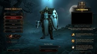 Meet the Crusaders and grab the loot in Act V of Diablo III Reaper of Souls - The Lobby