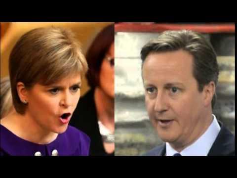 David Cameron and Nicola Sturgeon hold talks in Edinburgh