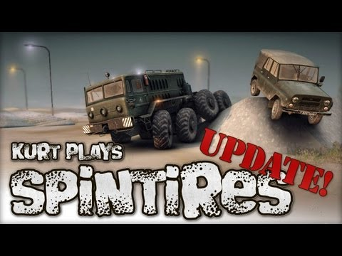 Let's Play SpinTires - June 4. 2013 Tech Demo Update