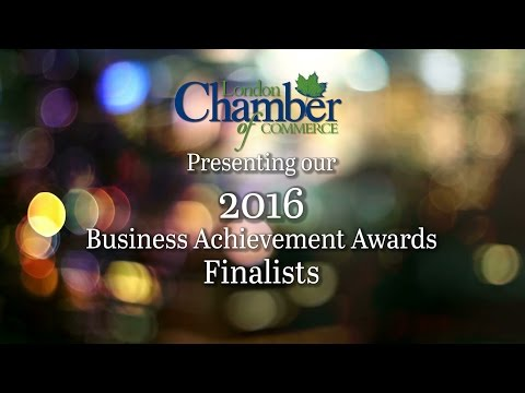 2016 London Chamber of Commerce Business Achievement Awards, Finalist Presentation
