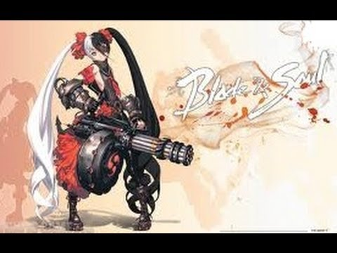 Blade & Soul Online Little Girl with Gatling Gun Pohwaran Raid Boss 1080p