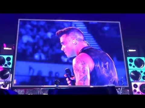 Robbie Williams - We Will Rock U / Love Rock'n'Roll - 14/10/15 Adelaide HD FRONT ROW