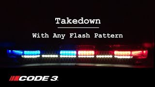 Code 3's Pursuit Lightbar Flash Patterns
